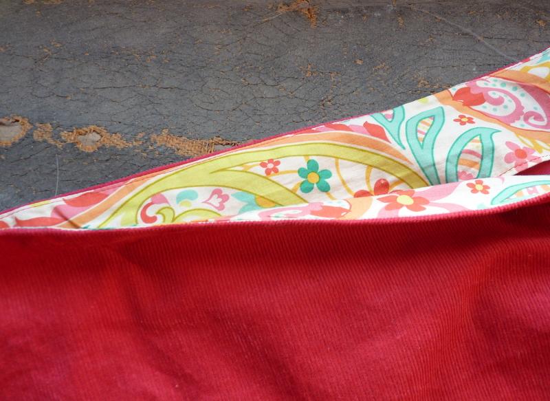skirt facing