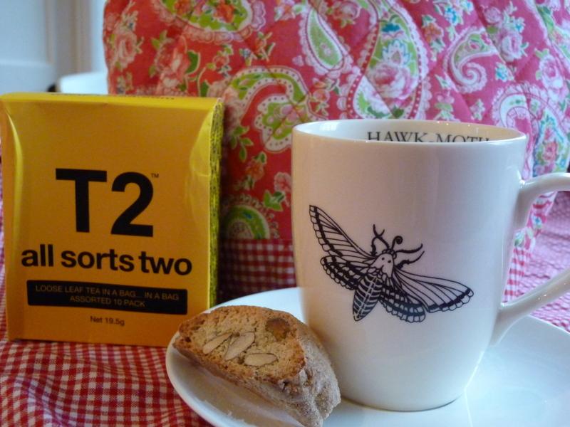tea and cantuccini