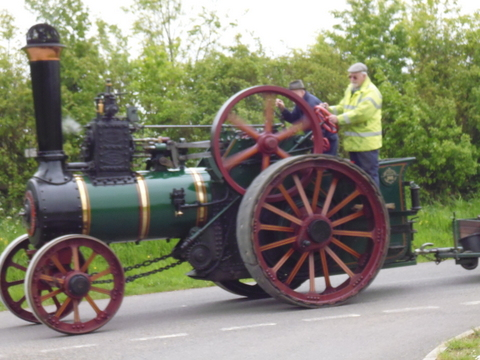 traction engine Blackley Lane