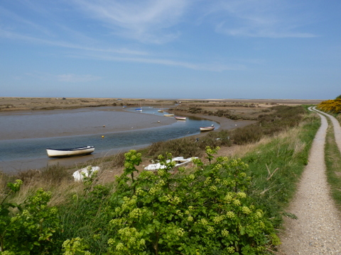 Norfolk Coast Path near Stiffkey