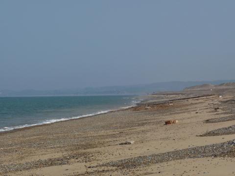 Norfolk coast path Cley