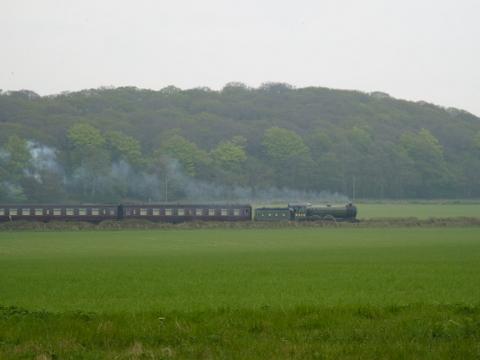 North Norfolk Railway between Weybourne and Sheringham