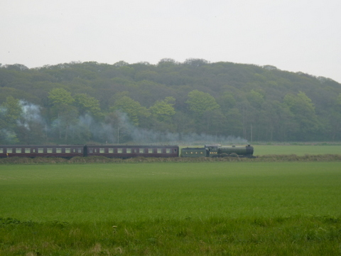 North Norfolk Railway between Weybourne and Sheringham