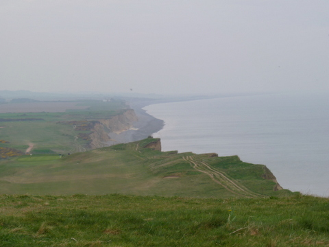 Norfolk Coast Path back towards Water Hill