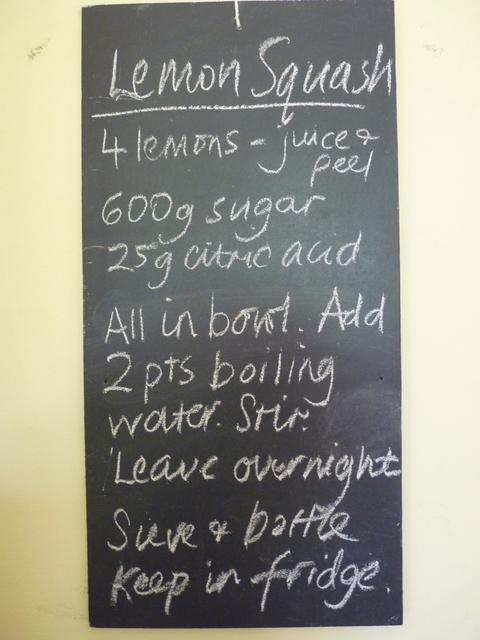 lemon squash recipe