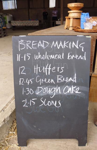 breadmaking schedule