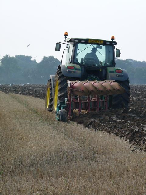 ploughing Far Blackley