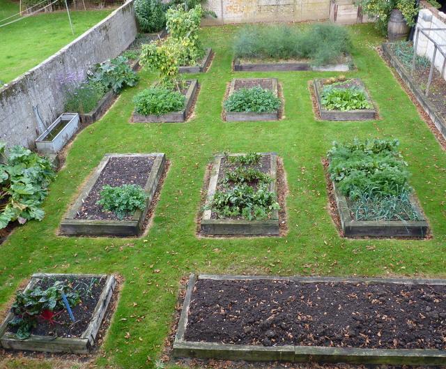vegetable garden October