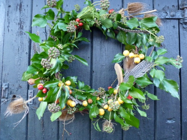 from the garden wreath