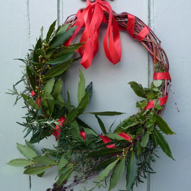 herb wreath