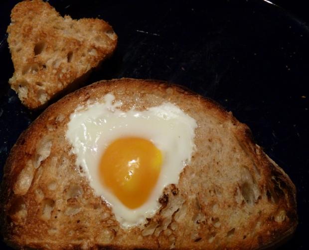 I love egg and toast