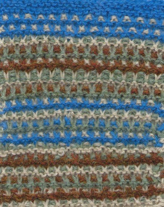 slip garter stitch knitting