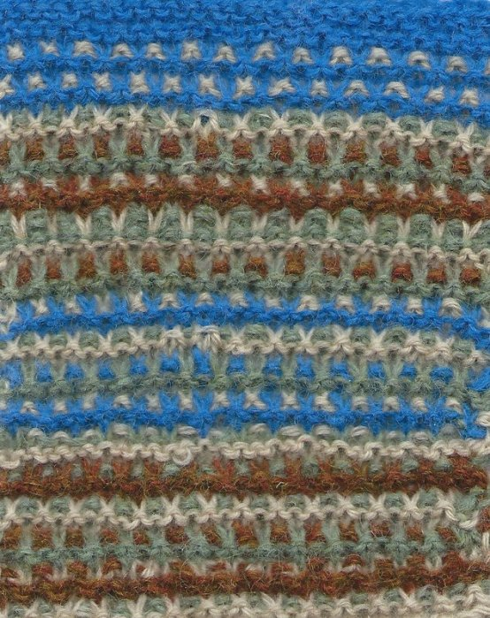 slip garter stitch knitting