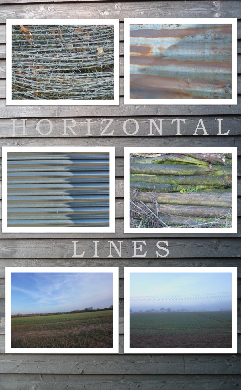 horizontal lines on the farm