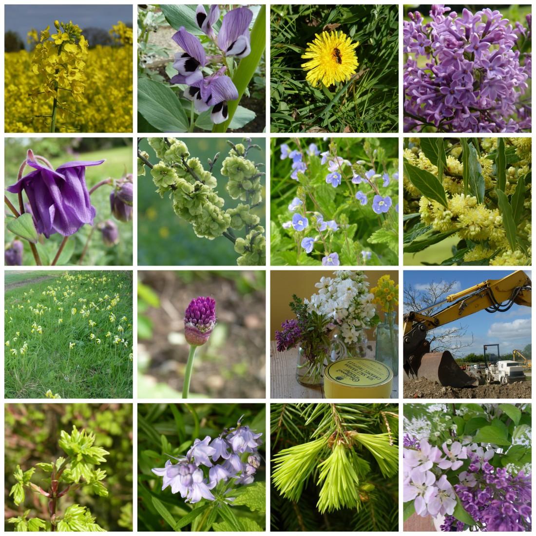 April colours