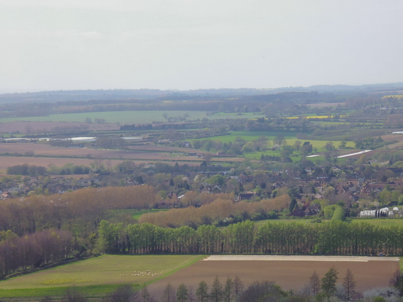 from Wye Crown on North Downs Way