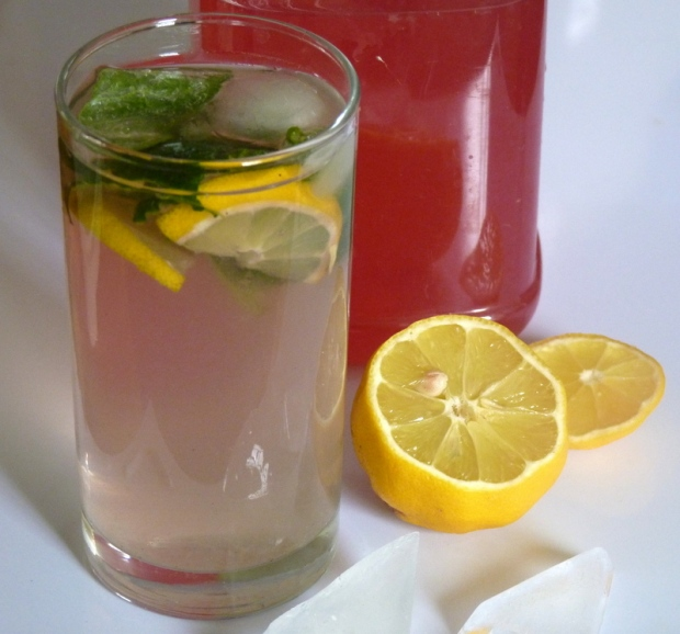 lemonade with lilac