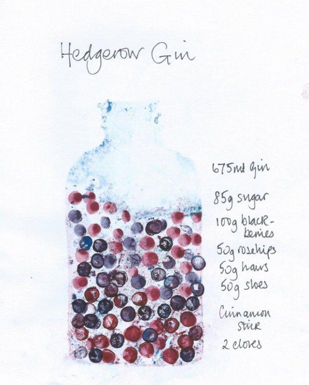 hedgerow gin recipe