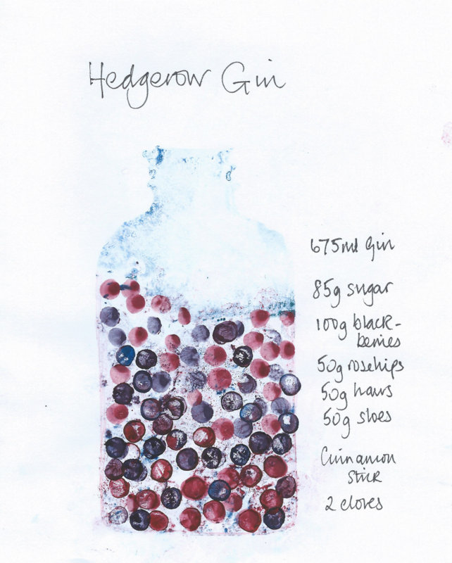 hedgerow gin recipe