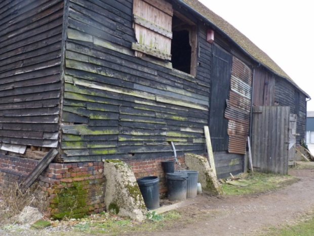 traditional Essex barn