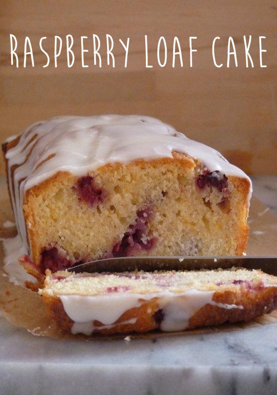 raspberry loaf cake