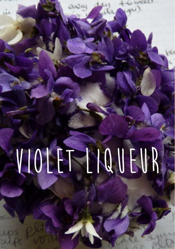violet liqueur