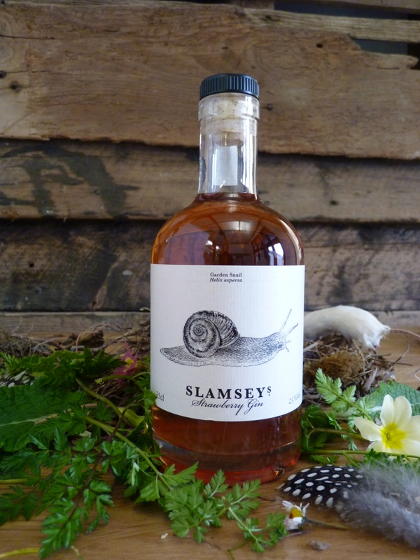 Slamseys Strawberry Gin with mouse