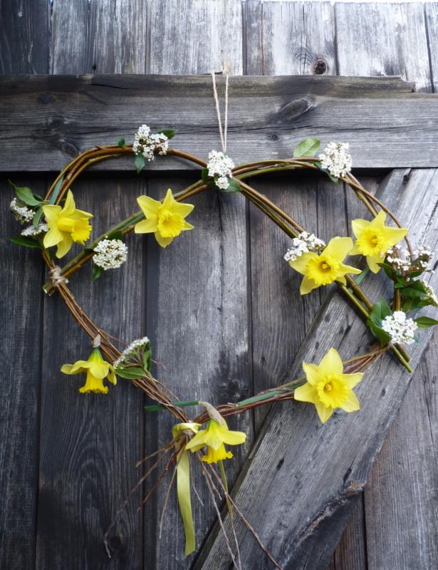 willow heart wreath