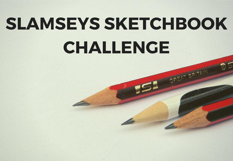 slamseys sketchbook challenge