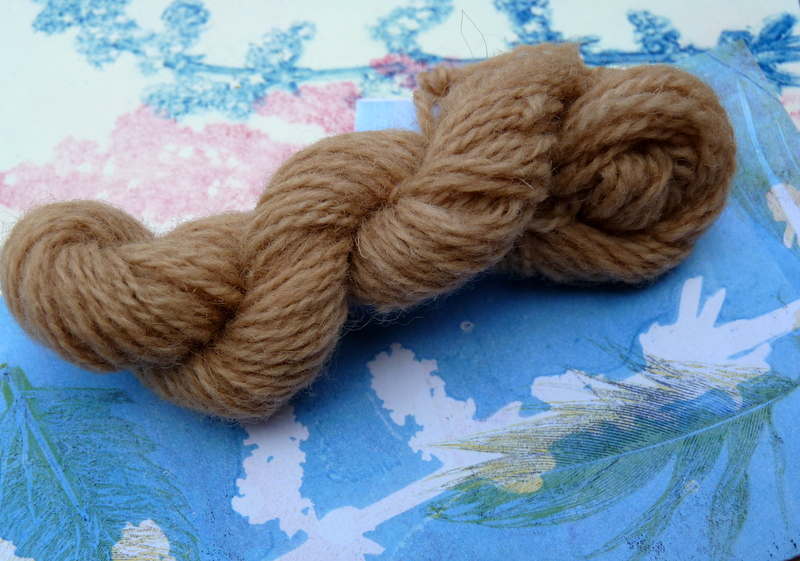wool dyed with lady's bedstraw