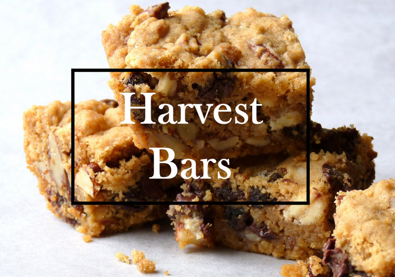 harvest bars recipe