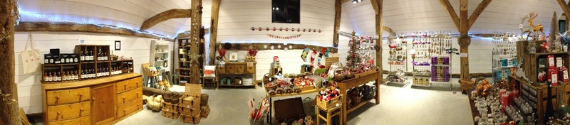 Christmas Barn at Slamseys