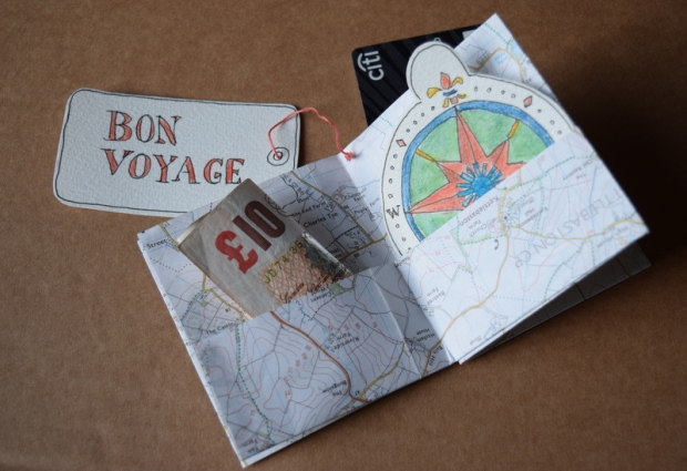 booklet made from map