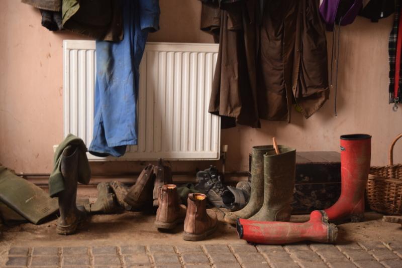 farmhouse boot room