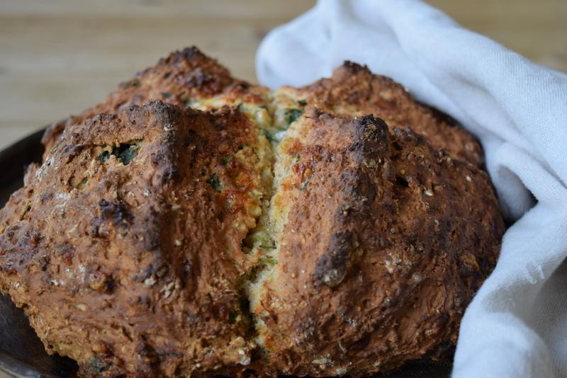 stinging nettle bread