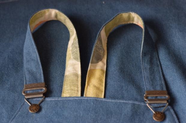 hand printed fabric lining
