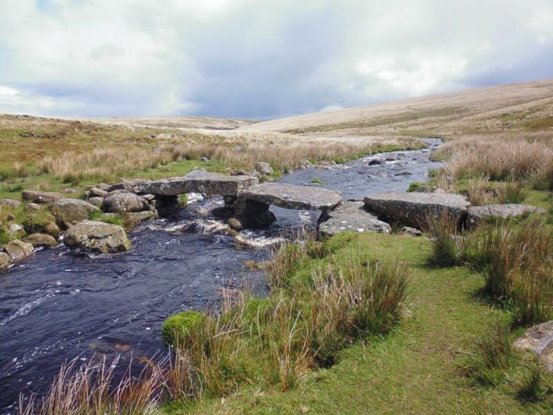 clapper bridge Dartmoor
