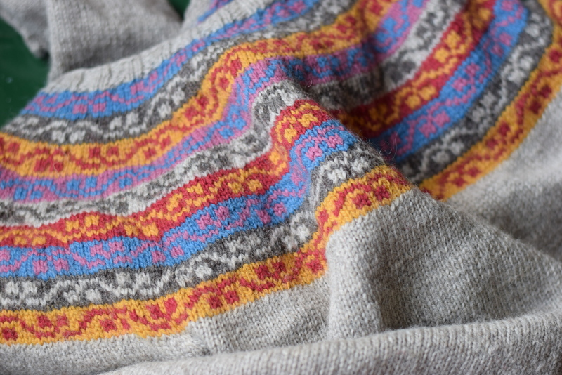 Miss Rachel's Yoke sweater