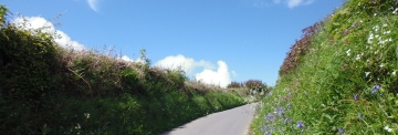 Two Moors Way Devon coast to coast path
