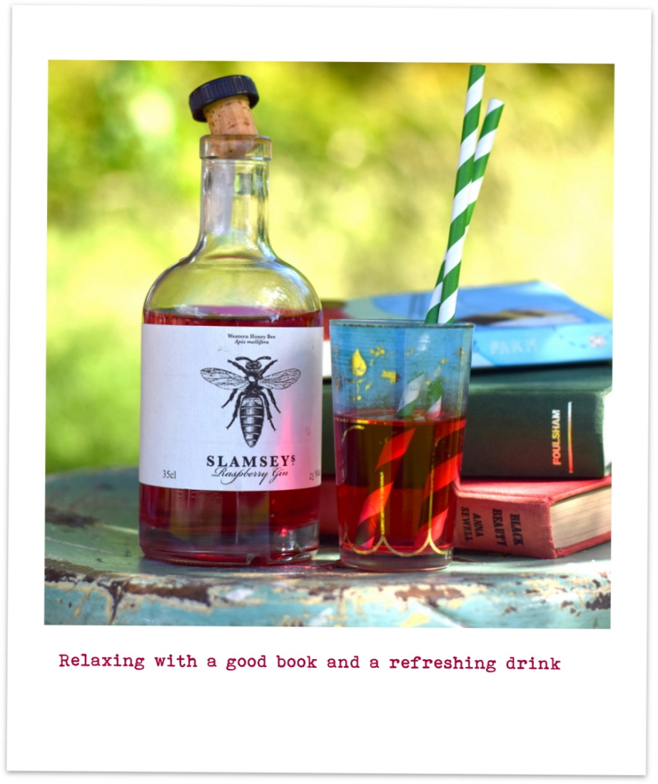 Slamseys raspberry gin
