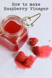 how to make raspberry vinegar