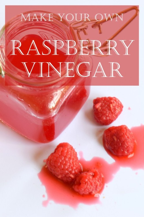 make your own raspberry vinegar