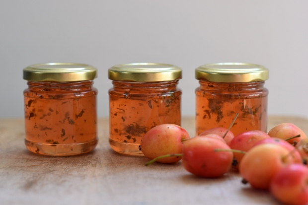 Crab apple and herb jelly