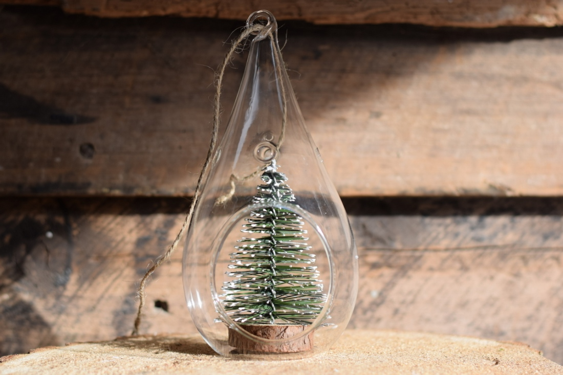 Christmas tree in a bauble