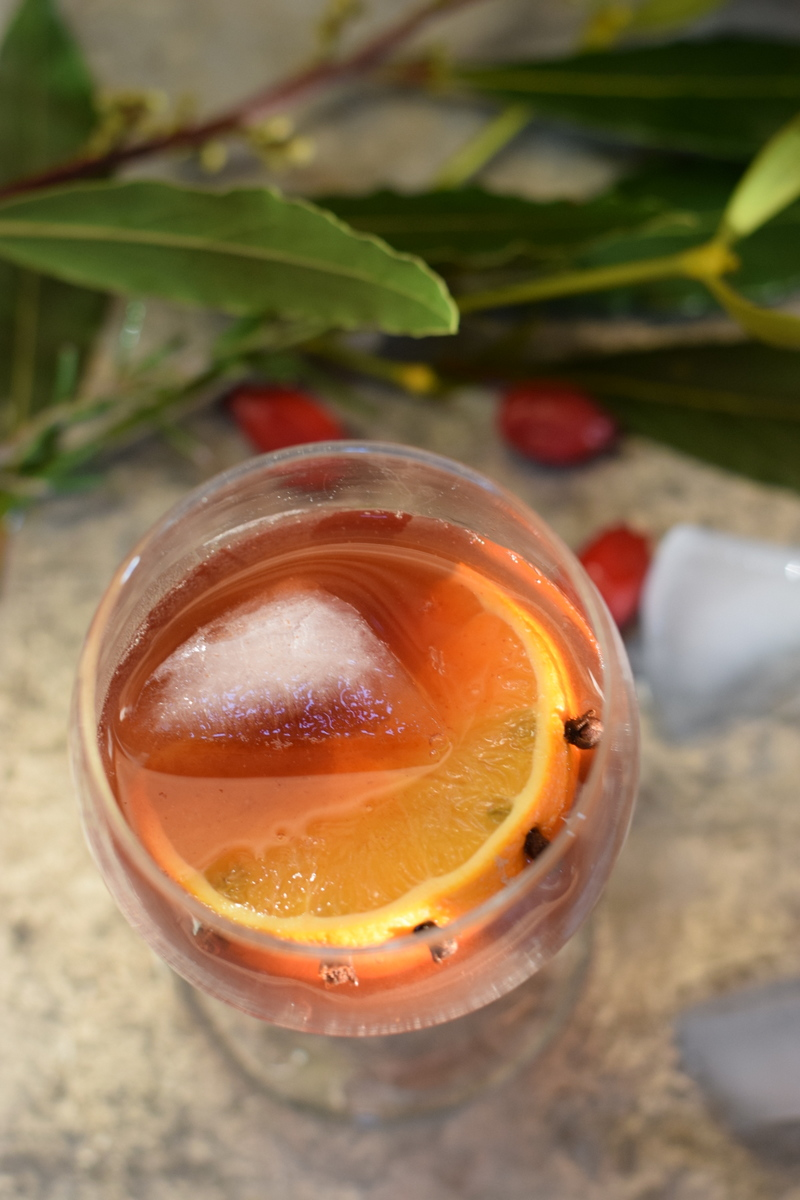 Slamseys sloe Gin cocktail