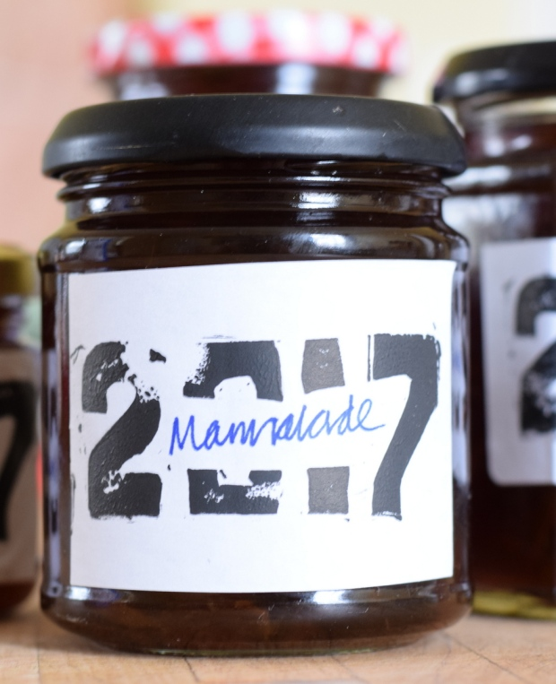 home made marmalade