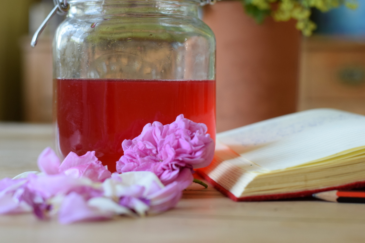 Rose Petal Tonic Syrup