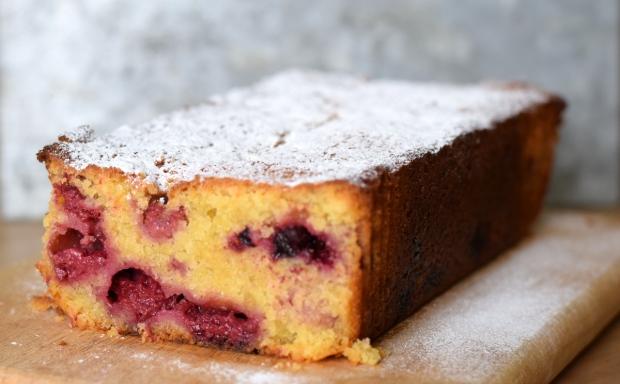 Summer Fruit Loaf Cake made with fresh or frozen soft fruit