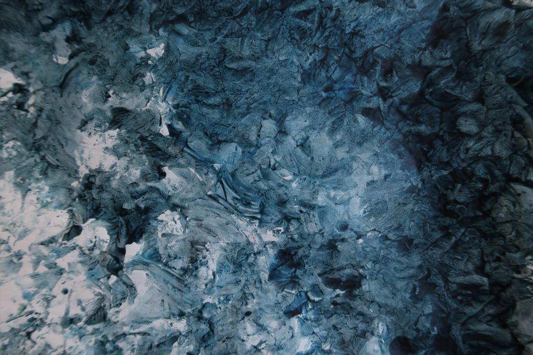 Paste paper in dark blue