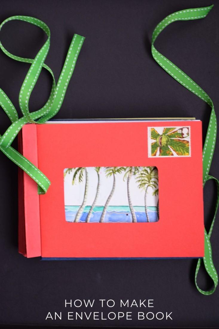 Envelope book with artwork
